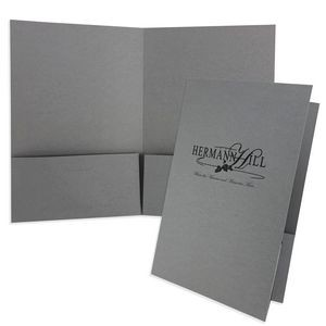 "Mid-Size Presentation Folder with 2 Pockets (6""x9"") printed with spot PMS ink color"