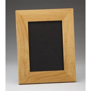 "10"" x 12"" - Hardwood Picture Frame - Laser Engraved - USA-Made"