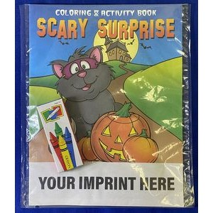 Scary Surprise Coloring Book Fun Pack