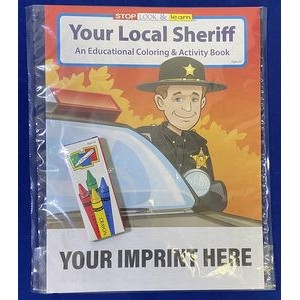 Your Local Sheriff Coloring & Activity Book Fun Pack