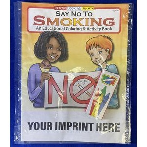 Say No to Smoking Coloring Book Fun Pack