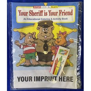 Your Sheriff Is Your Friend Coloring and Activity Book Fun Pack