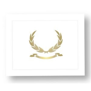 Stock Certificate Folder - with logo