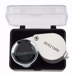 Foldable Jewelry Loupe 30X Magnifier