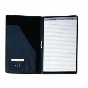 "Leather Legal Size Pad Holder (15 1/4""x9 1/2""x3/4"")"