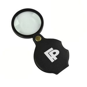 Pocket PU Leather Foldable Magnifier