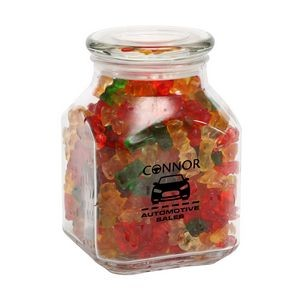 Gummy Bears in Lg Glass Jar