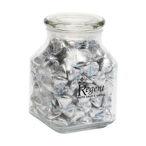 Hersheys® Kisses® in Lg Glass Jar