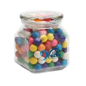 Gumballs in Med Glass Jar