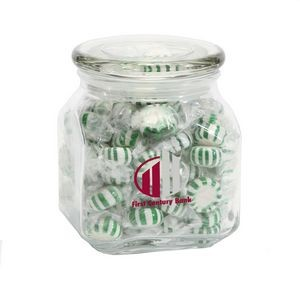 Striped Spearmints in Med Glass Jar