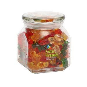 Gummy Bears in Med Glass Jar