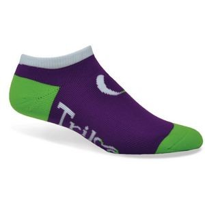 Import Full Cushion No Show Socks w/Knit-In Logo