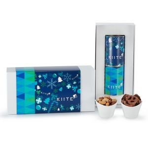2 Way 4 inch Snack Tube Gift Set