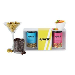3 Way Boozy Snacks Gift Set - Cocktail Lovers