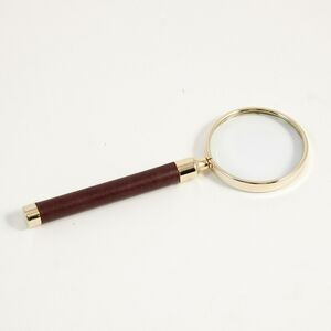Magnifier - Brown Leather