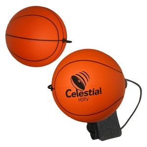 Basketball Stress Reliever Yo-Yo Bungee