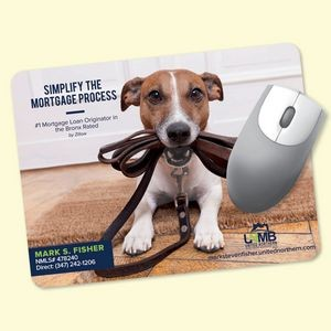 "Origin'L Fabric® 6""x8""x1/16"" Antimicrobial Mouse Pad"