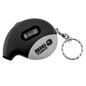 Talking Digital Tire Gauge w/ Key Ring