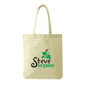 Cotton Canvas Open Tote