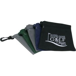 "Golf Zipper Bag (5 3/4""x6 3/4"")"