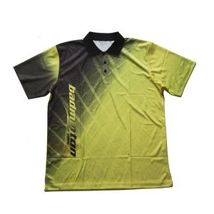 Fully Sublimated Printed Dry Fit Moisture Wicking Golf Polo Jersey Shirt