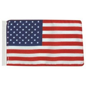 "4"" x 6"" U.S. Antenna Flags Without Fringe"